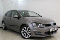 USED 2014 14 VOLKSWAGEN GOLF 2.0 GT TDI BLUEMOTION TECHNOLOGY 5DR 148 BHP FULL VW SERVICE HISTORY + PARKING SENSOR + BLUETOOTH + CRUISE CONTROL + MULTI FUNCTION WHEEL + AIR CONDITIONING + 17 INCH ALLOY WHEELS
