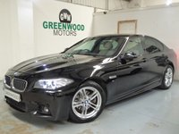 USED 2014 14 BMW 5 SERIES 2.0 520d M Sport 4dr AUTO