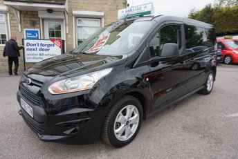 2016 FORD TRANSIT CONNECT 1.6 TDCI 115 240 TREND 6 DR LONG CREWCAB ( A/C ) £12489.00