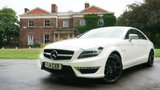 USED 2014 14 MERCEDES-BENZ CLS 63 AMG 5.5 CLS63 AMG 4d AUTO SAT NAV Sunroof Heated Seats Full Service History  FULL MERCEDES BENZ SERVICE HISTORY + FULL BLACK LEATHER SEATS + COMAND SAT NAV + REVERSE CAMERA + BLIND SPOT ASSIST + ELECTRIC SUNROOF + HEATED FRONT SEATS + XENON HEADLIGHTS