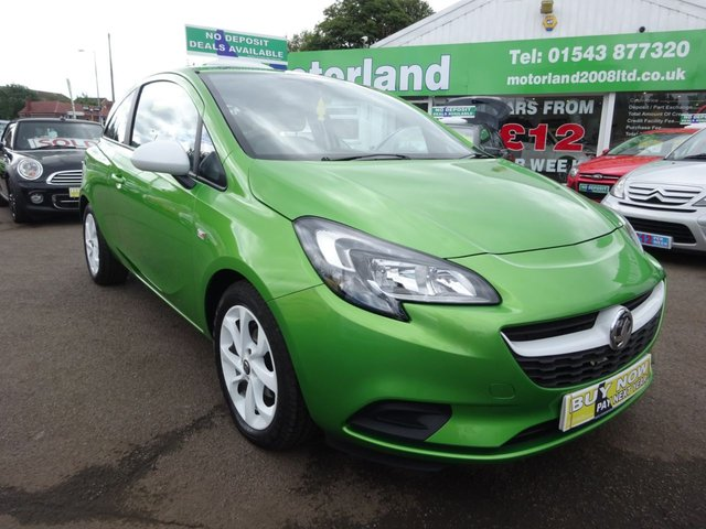 USED 2015 15 VAUXHALL CORSA 1.2 STING 3d 69 BHP **FULL SERVICE HISTORY** 1 PRIVATE OWNED CAR FROM NEW***