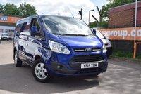 2015 FORD TRANSIT CUSTOM 2.2 270 LIMITED LR P/V 1d 124 BHP £14499.00