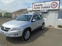 USED 2011 11 VOLKSWAGEN TIGUAN 2.0 ESCAPE TDI 4MOTION DSG 5d AUTO 138 BHP £44 PER WEEK NO DEPOSIT, SEE FINANCE LINK BELOW