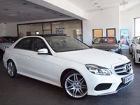 "USED 2014 64 MERCEDES-BENZ E CLASS 2.1 E220 CDI AMG SPORT 4d AUTO 168 BHP +PAN ROOF+SAT NAV+19"" ALLOYS+"