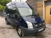 USED 2011 11 FORD TRANSIT 2.4 350 H/R 1d 140 BHP 4x4 FOUR WHEEL DRIVE
