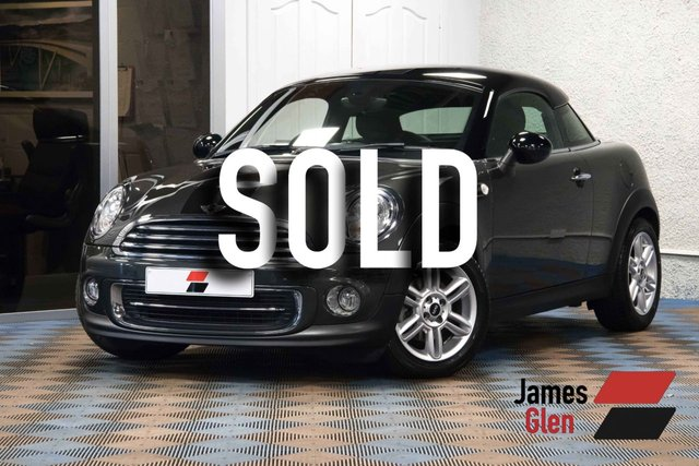 USED 2015 15 MINI COUPE 1.6 COOPER 2d 120 BHP One Owner | 9,000 Miles