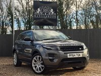 USED 2015 64 LAND ROVER RANGE ROVER EVOQUE 2.2 SD4 DYNAMIC 5dr AUTO  1 Year Parts & Labour Warranty