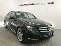 2011 MERCEDES-BENZ C CLASS 2.1 C220 CDI BLUEEFFICIENCY SPORT 4d 168 BHP £10995.00