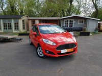 2014 FORD FIESTA 1.2 ZETEC 3d 81 BHP £6495.00