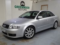 2004 AUDI A4 1.8 T LIMITED EDITION 4dr 161 BHP £2494.00