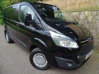 2014 FORD TRANSIT CUSTOM 2.2 270 TREND LR P/V 1d 124 BHP £11995.00
