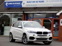 USED 2015 65 BMW X5 3.0 XDRIVE30D M SPORT 5dr AUTO (255)  ** 7 Seats + Pro Nav + 4WD Auto **