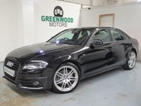 USED 2010 60 AUDI A4 2.0 TDI S line Special Edition 4dr