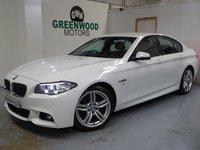 USED 2014 63 BMW 5 SERIES 2.0 520d M Sport 4dr AUTO