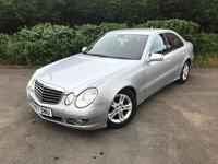 2008 MERCEDES-BENZ E CLASS 2.1 E220 CDI AVANTGARDE 4d AUTO 168 BHP £3500.00