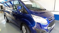 2014 FORD TRANSIT CUSTOM 2.2 270 LIMITED LR P/V 1d 124 BHP £13995.00