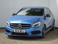 2014 MERCEDES-BENZ A CLASS 2.1 A220 CDI BLUEEFFICIENCY AMG SPORT 5d AUTO 170 BHP £13988.00