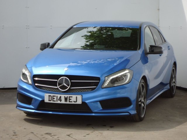 2014 14 MERCEDES-BENZ A CLASS 2.1 A220 CDI BLUEEFFICIENCY AMG SPORT 5d AUTO 170 BHP