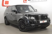 USED 2015 15 LAND ROVER RANGE ROVER 3.0 TDV6 AUTOBIOGRAPHY 5d AUTO 255 BHP BLACK PACK + L R WARRANTY + LOW MILES + PAN ROOF
