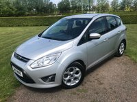 USED 2012 12 FORD C-MAX 1.6 ZETEC 5d 104 BHP Full Service History, MOT 05/19, Recent Service Full Service History, MOT 05/19, Recently Serviced, Truly Stunning Unmarked Example, Ex Motability Vehicle, Fastiduously Maintained, DAB/Cd/Stereo With Wireless Media Streaming, USB/Aux In Sockets, Elec Windows, Elec Mirrors, Parking Sensors, Cruise Control, Auto Lights On, Auto Wipers, Dimming Mirrror,  Bluetooth Phone Handsfree, Unmarked Alloys, Recent Tyres Replaced, Recent Front And Rear Brakes Replaced, Very Very Clean And Tidy Example, Removable Roof Bars, Full Set Of Rubber Mats, Previous