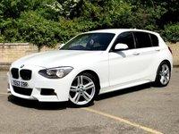 2012 BMW 1 SERIES 2.0 116D M SPORT 5d £30 ROAD TAX, BLUETOOTH, STUNNING  £8490.00