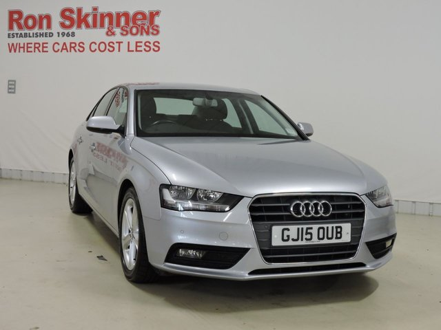 View our 2015 15 AUDI A4 2.0 TDI ULTRA SE TECHNIK 4d 161 BHP with heated front seats