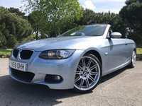 USED 2009 59 BMW 3 SERIES 2.0 320I M SPORT HIGHLINE 2d AUTO 168 BHP LOVELY CONDITION GREART SPEC M SPORT CAB WITH 55K AND FSH