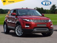 2013 LAND ROVER RANGE ROVER EVOQUE 2.2 SD4 PRESTIGE LUX 5d AUTO 190 BHP with Extra's £22499.00