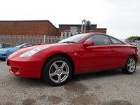 2002 TOYOTA CELICA 1.8 VVT-I 3d 140 BHP £1395.00