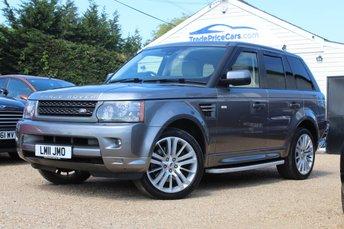 2011 LAND ROVER RANGE ROVER SPORT 3.0 TDV6 HSE 5d AUTO 245 BHP £18450.00