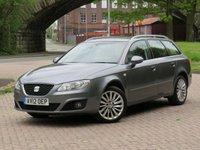 USED 2012 12 SEAT EXEO 2.0 CR TDI SE TECH MULTITRONIC 5d AUTO 141 BHP