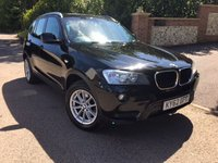 2012 BMW X3 2.0 XDRIVE20D SE 5d 181 BHP PLEASE CALL TO VIEW £SOLD
