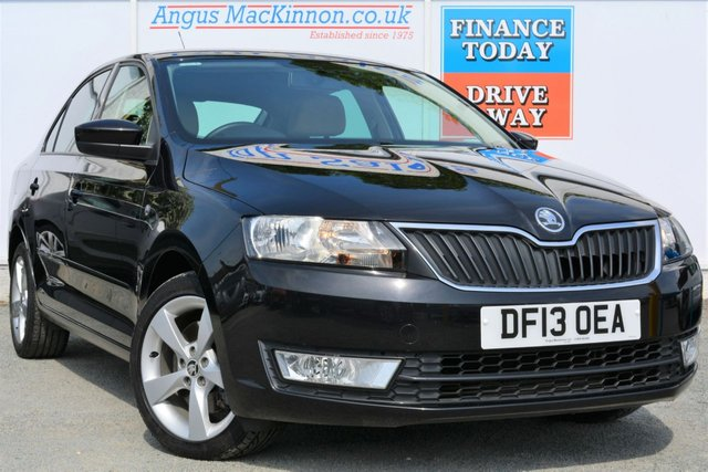 2013 13 SKODA RAPID 1.6 ELEGANCE GREENTECH TDI CR Lovely 5dr Hatchback with Low Road Tax and High 67mpg