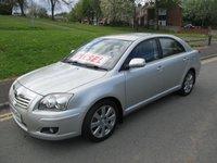 2008 TOYOTA AVENSIS 2.0 TR D-4D 5d 125 BHP £3999.00