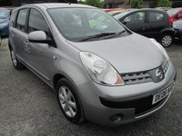 USED 2006 06 NISSAN NOTE 1.4 SE 5d 87 BHP EXCELLENT SERVICE HISTORY ALLOYS CD