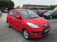 USED 2010 59 HYUNDAI I10 1.2 STYLE 5DR £30 ROAD TAX EXCELLENT FUEL ECONOMY SERVICE HISTORY