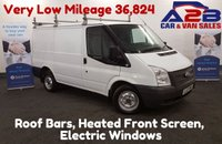 2012 FORD TRANSIT 2.2 260 LR 100 BHP 36,824 Miles, Roof Bars £6980.00