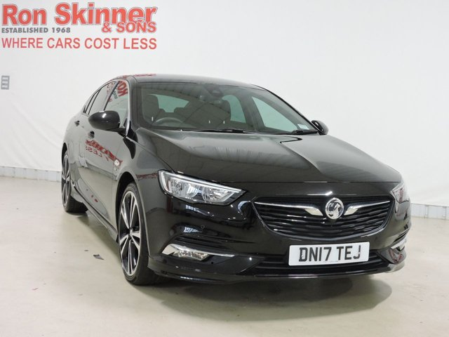 View our 2017 17 VAUXHALL INSIGNIA 2.0 GRAND SPORT SRI VX-LINE NAV 5d 168 BHP with Parking Sensors + 20in Alloys