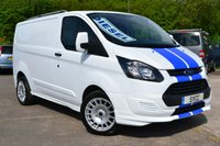 "USED 2014 14 FORD TRANSIT CUSTOM M Sport Style Kit 18"" Sport Alloys 2.2 290 LR P/V 1d 99 BHP M Sport Kit ~ New 18"" Alloys ~ Roof Bars ~ Frozen White"