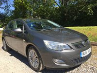 2011 VAUXHALL ASTRA 1.7 EXCITE CDTI 5d 108 BHP £5292.00