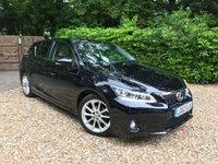 2012 LEXUS CT 1.8 200H SE-L 5d AUTO 136 BHP £12989.00