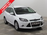 USED 2014 64 FORD FOCUS 1.6 TITANIUM NAVIGATOR 5d AUTO 124 BHP ***1 Owner, Full Service History, serviced in November 2015 at 4,480 miles, December 2016 at 9,368 miles and February 2018 at 12,531 miles. MOT until September 2018. AUTO, Sat Nav, Parking Sensors, Privacy Glass, Electrically heated Front and Rear Windscreens, Cruise Control, Bluetooth, Air Conditioning. Free RAC Warranty and Free RAC Breakdown Cover.***