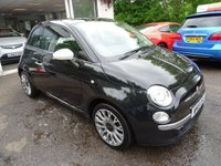 USED 2015 15 FIAT 500 1.2 RON ARAD EDITION 3d 69 BHP Extremely Rare Ron Arad Limited Edition finished in Metallic Black with Full Black Leather Interior! Very Low Mileage, Full Service History (Fiat + ourselves), MOT until May 2019 (no advisories), One Previous Owner, Great on fuel economy! Only £30 Road Tax!