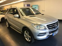 2012 MERCEDES-BENZ M CLASS 3.0 ML350 BLUETEC SPECIAL EDITION 5d AUTO 258 BHP £19995.00
