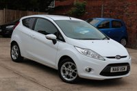 USED 2012 61 FORD FIESTA 1.2 ZETEC 3d 81 BHP **** AIR CON * BLUETOOTH * EXCELLENT CONDITION ****