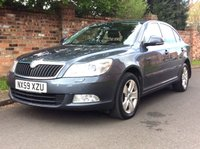 USED 2009 59 SKODA OCTAVIA 1.6 ELEGANCE TDI CR 5d 103 BHP 1 OWNER, FULL SERVICE HISTORY, 1YR MOT, £30 ROAD TAX, EXCELLENT CONDITION, ALLOYS, AIR CON, CRUISE, FOGS, RADIO CD, E/WINDOWS, R/LOCKING, FREE WARRANTY, FINANCE AVAILABLE, HPI CLEAR, PART EXCHANGE WELCOME,