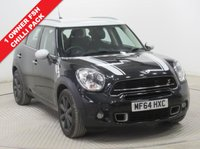 USED 2014 64 MINI COUNTRYMAN 2.0 COOPER S D 5d 141 BHP CHILLI PACK ***1 Owner, Full Service History, Chiili Pack, Half Leather, Parking Sensors, Air Conditioning, Bluetooth, 2 Keys. Free RAC Warranty and Free RAC Breakdown Cover.***