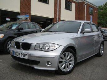 2006 BMW 1 SERIES 2.0 120D SE 5d 161 BHP £4995.00