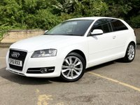 2011 AUDI A3 1.4 TFSI SPORT 3d ONLY 52K 5 SERVICES 1 FORMER KEEPER  £7990.00