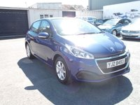 2016 PEUGEOT 208 1.2 ACTIVE 5d 82 BHP low mileage £8450.00